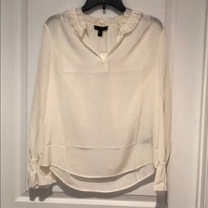 J.Crew cream blouse